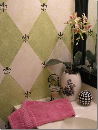 harlequin pattern on wall pin by adele aoyama yamada on bathroom ideas pinterest