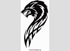 Angry wolf tribal | Things to draw | Wolf tattoos, Tattoos ... Easy Tribal Animal Drawings