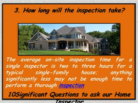 5 significant questions to ask your home inspector
