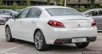 Peugeot In Malaysia Peugeot 508 Facelift Launched In Malaysia Fr Rm175k