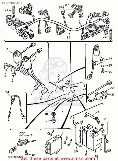 1981 yamaha xj650 maxim wiring diagram 1981 yamaha sr250