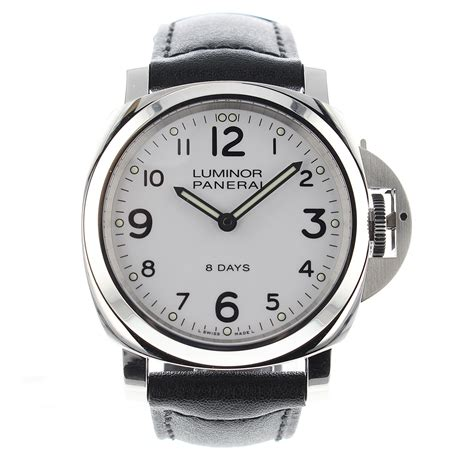 panerai luminor base 8 days 44 mm pam00561 mens