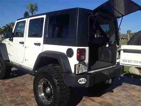2008 Jeep Wrangler Lifetime Powertrain Warranty Sell Used 2008 Jeep Wrangler Unlimited Rubicon Sport