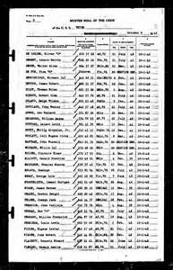 Muster Roll Word Meaning The Crew October 20 1942 The South Pacific Express
