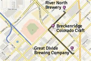 self guided tour maps of breweries and bars in denver