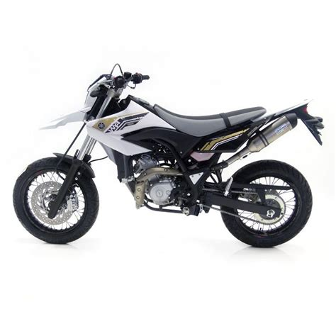 Enduro 125 Tieferlegen by Leo Vince Lv1 Evoii Stainless Yamaha Wr125 R X 2009 15