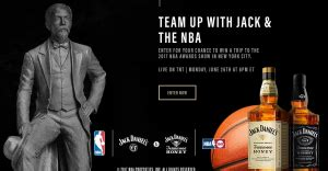 Tennessee Sweepstakes Law - jack daniel s tennessee honey nba awards show giveawayus com