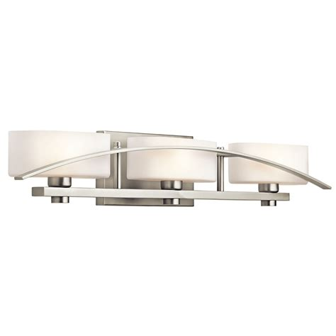 Bathroom Light Fixtures Brushed Nickel Bathroom Lighting Ideas Designs Designwalls