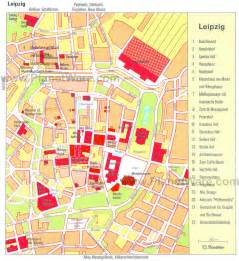 Leipzig Germany Map by Leipzig Map