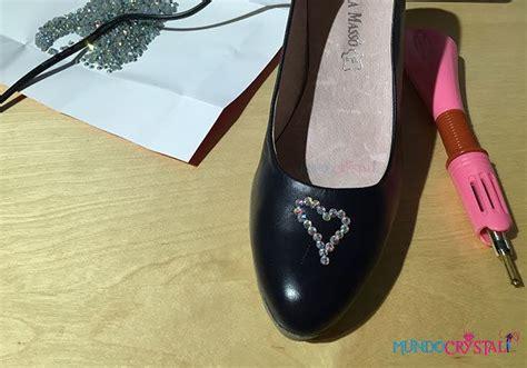 imagenes de unas zapatillas como decorar zapatos con piedras strass