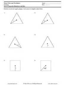 worksheet area of regular polygons worksheet trapezoids