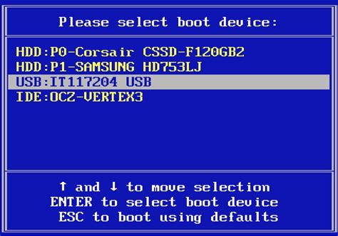 the boat menu how to boot from usb or a different drive expert reviews