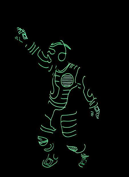 1000 Ideas About El Wire Costume On Pinterest Light Up Light Up Costume