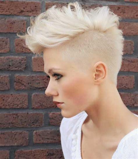 Blonde Pixie Mohawks | 15 new mohawk pixie cuts pixie cut 2015