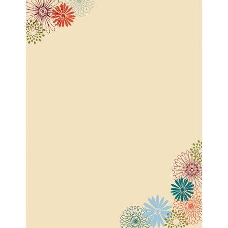 decorative paper walmart great paper fall mums decorative letterhead paper 80