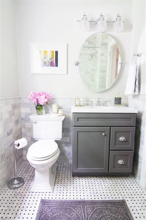 reveal  dingy bathroom   breath  fresh air