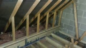 Loft Bed Joists Garage Loft Conversion In Bovey Tracey 5