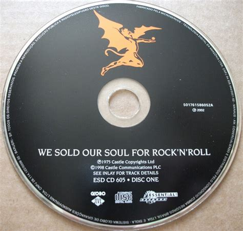 We Sold Our Soul we sold our soul for rock n roll cd albums