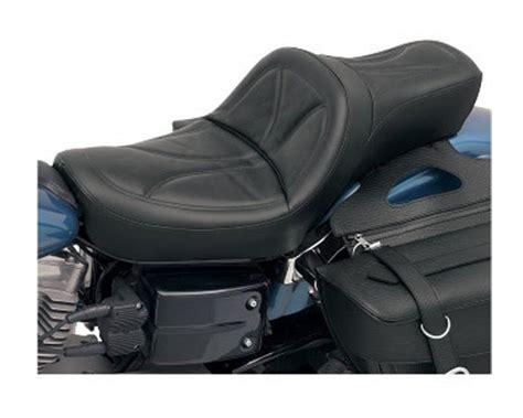 king seats motorcycles saddlemen king seat for harley dyna 2004 2005 revzilla