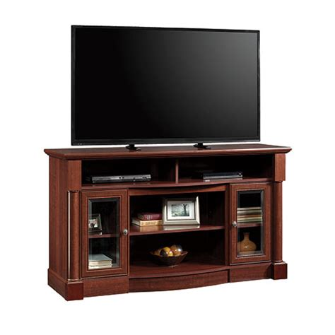 Fireplace Credenza by Sauder Palladia Entertainment Fireplace Credenza Boscov S