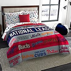baseball bedding full mlb all league twin full comforter bed bath beyond
