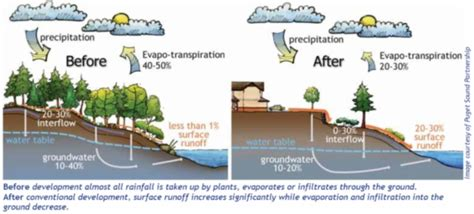 why do i cycles on my roof surface water management