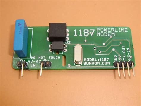 Modem Plc powerline communication modem plc 1187 sunrom