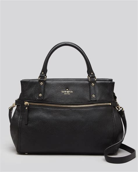 Kate Spade Cobble Hill kate spade satchel cobble hill murphy in black lyst
