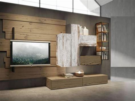parete attrezzata outlet etnico  legno  prezzo outlet