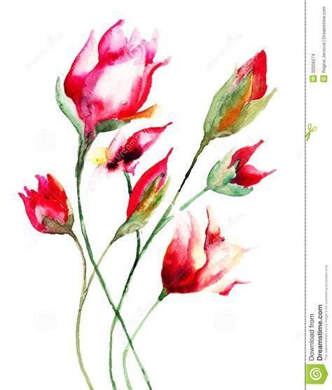 immagini fiori stilizzati gallery of fiori colorati da stare e ritagliare fiori