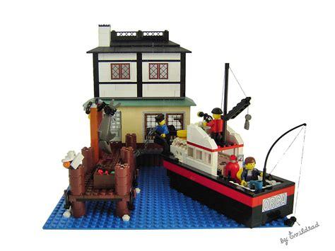lego boat full size brickshelf gallery 1 jaws diorama front jpg