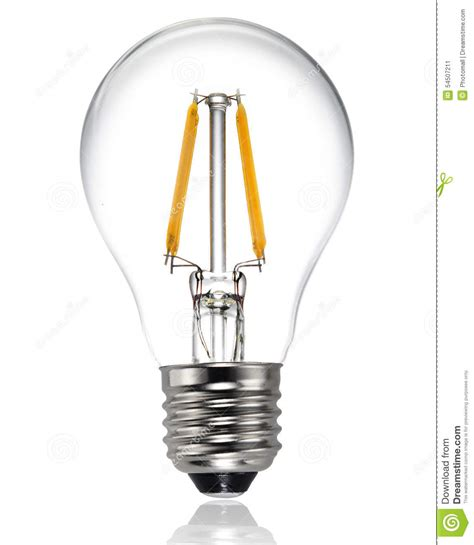 new type led light bulb stock photo image 54507211
