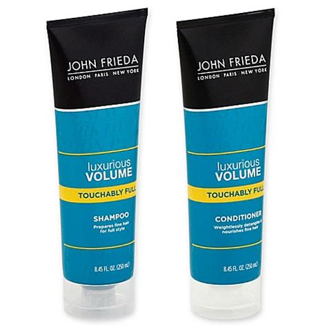 Is John Frieda Morton In Revitalizing In Hand Shoo Good For Grey Hair | john frieda luxurious volume bed bath beyond