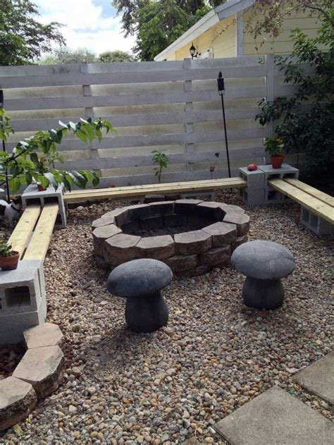 diy pit sitting area 22 backyard pit ideas with cozy seating area