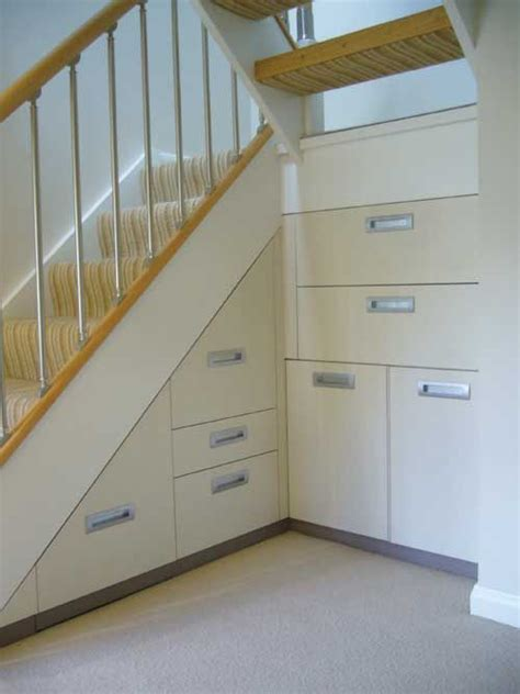 U Stairs Design Storage U Shaped Stairs Rooms Space Ideas Simple And Storage