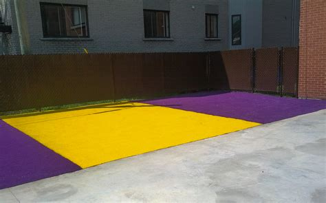 Poured Rubber Flooring by Rubberflex Poured Cast Rubber Smooth Safe Durable Floor