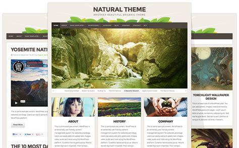 themes wordpress nature theme updates natural business beautiful responsive