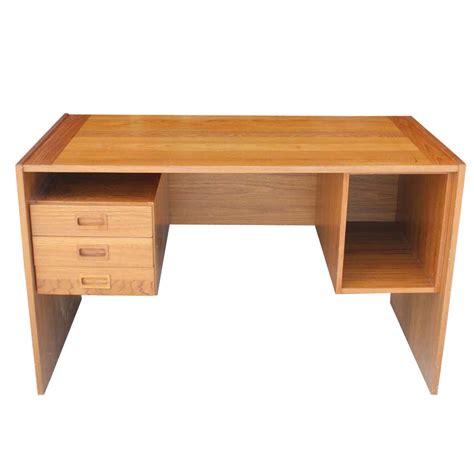 teak desk 4ft vintage teak desk panel legs ebay