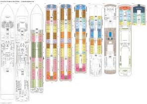 seven seas explorer deck plans diagrams pictures video