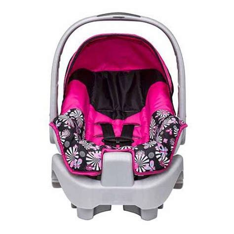 evenflow car seats evenflo nurture infant car seat pink ebay