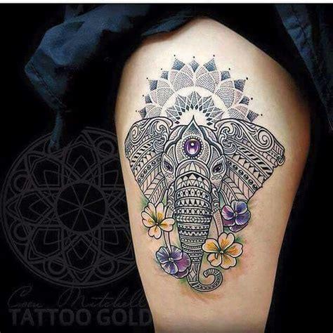 elephant tattoo meaning yahoo 20 best elephant thigh tattoo images on pinterest