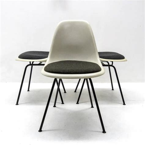 Eames L by Set Of Six Eames Dsx Dining Chairs For Herman Miller For