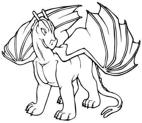 simple dragon coloring page dragon coloring pages printable activity shelter