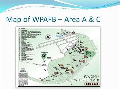 Get Printable Area C | wpafb area b map my blog