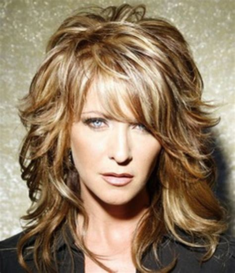 medium length layered hairstyles for over 40 medium haircuts for women over 40