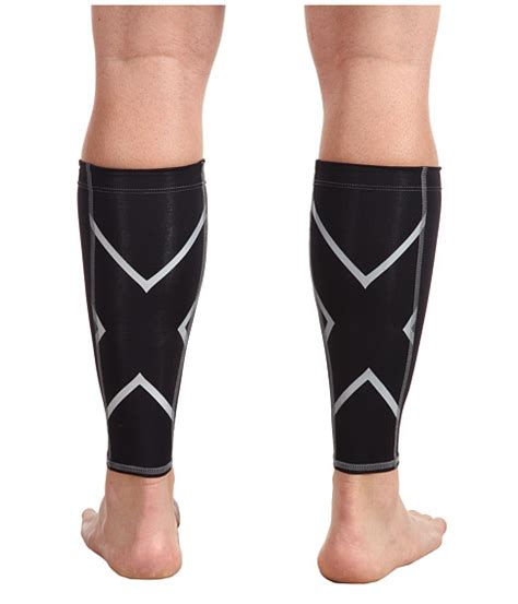 best running shoes for tight calves 2xu non stirrup calf guard at zappos