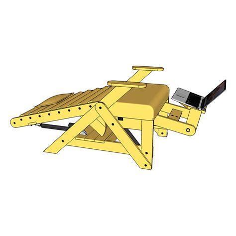 bridge inversion table lift bridge inversion chair plans lift bridge furniture