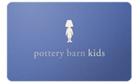 Potteries Gift Card - pottery barn kids gift card gift cards gift certificates icard gift cards