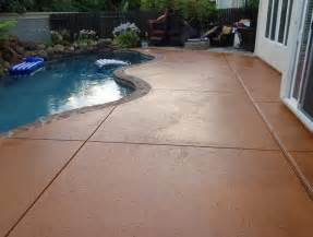 Colored Concrete Patio Pictures by Colored Stamped Concrete Patio Home Design Ideas