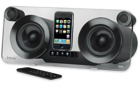 cool stereo systems ihome ip1 iphone audio system cool material